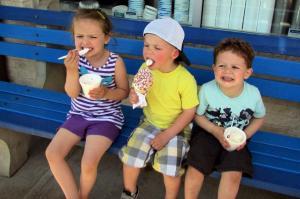 My kid REALLY loves ice cream.