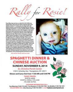 Rally for Rosie Benefit