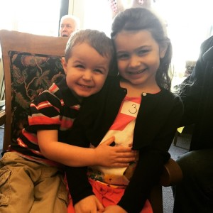 Kris' kids, Claire and Drazen. Getting so big, and look so much like their mommy. Love them <3